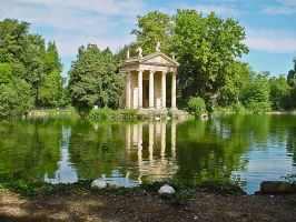 Roman Temple by Jules65