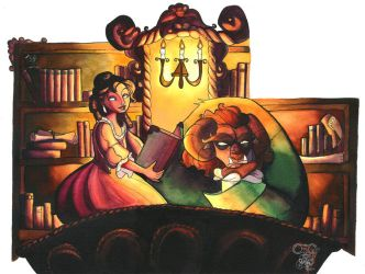 Beauty and the Beast by IriusAbellatrix