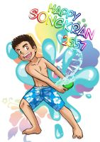 Happy Songkran 2557 by MarioRoz