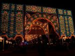 Christmas WalkWay Lts 16 by WDWParksGal-Stock