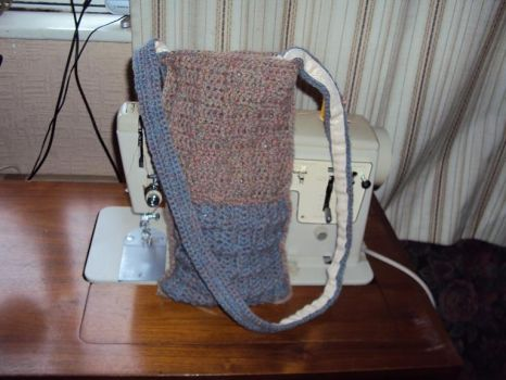 Crochet bag by eveningemma