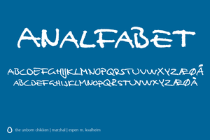 Analfabet Font by marzhal