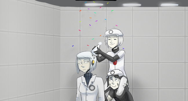 Portal 2 is one year old? by Super-Cute