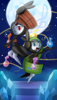 Meloetta - Moonlight Serenade by DarkyBenji