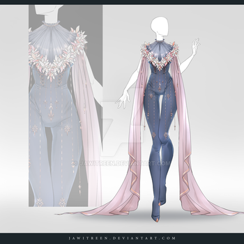 (CLOSED) Adoptable Outfit Auction 272 by JawitReen