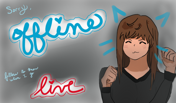 Twitch Offline banner by ehcyt