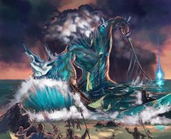 RIFT Colossus of Water by KaiserFlames