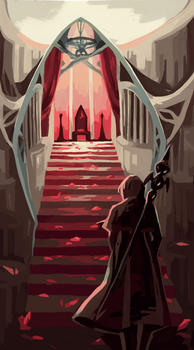 AA   the throne room by djoghurt