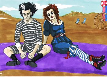 Sweeney Todd...by the sea by Lady-Valesya