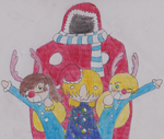 Merry Christmas  from W.o.R.2! by Boxohobo