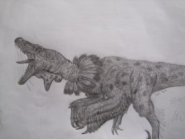 Velociraptor mongoliensis by Teratophoneus