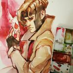 Gambit Watercolor by taho
