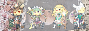 Moon Cafe Adopts Auction: {CLOSED} by WanyaaGoAdopts
