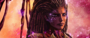 Sarah Kerrigan by p1xer