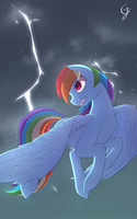 Raging storm by Laptop-pone