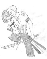 Watch out for my....sword. by scaragh