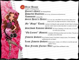 Ever After High - Briar Beauty's Full Bio v3 by cjlou-the-bejeweler