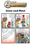 A4 Panel Comics_[s2]_Irum and Muri by A4ArtStuff