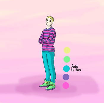 Sweater Dude by anahbois