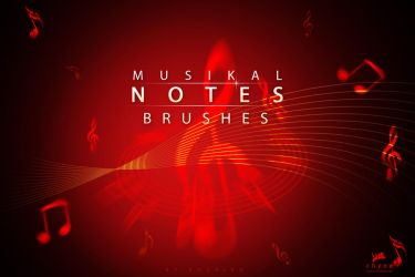 Musik-Note-Brushes by Rozairo