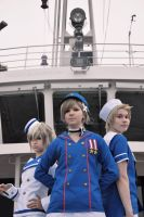 The crew welsomes you on board by TINNERI