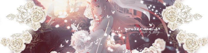 August Header - Darling in the FranXX by YuukoGFX