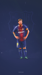 Messi 2018 by F5Designs