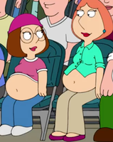 Big Belly Lois and Meg 2 by Adrockcp2999