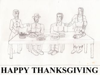 The Thanksgiving by UnicronHound