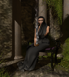 BA - The Pythia by BoudiccaAmat