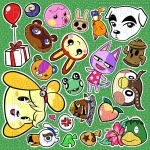 Humble Neighbors Sticker Sheet by zombielily