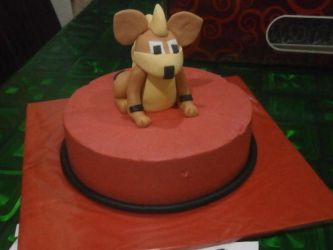 Growlithe Cake! by Charpuppy