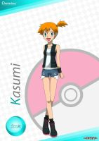 PKMN V - Misty A4 Artwork 2 (VER. 3) by Blue90
