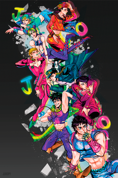 JOJOS BIZARRE ADVENTURES by Jubop