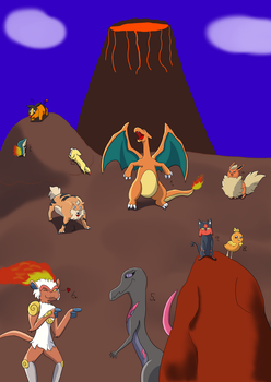 Fire types by Suopert