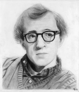 Woody Allen by PakstraX
