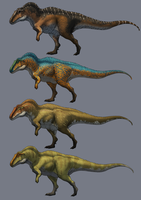 Acrocanthosaurus by Thek560