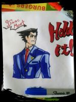 Phoenix Wright. Ace Attorney by IsaacMont