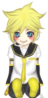 Bookmark Set: Kagamine Len by Jika-Jika