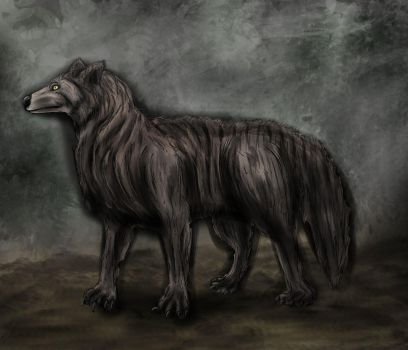 Request - Dire Wolf by SwarmCreator