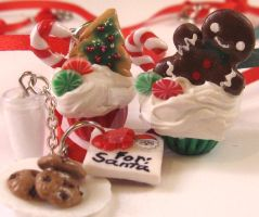 Cookies for Santa and Cupcake too by Lisas-Art-Endeavors