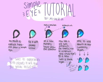 Lame eye tutorial by jet-laq