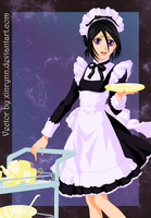Rukia: Maid-sama vector by xinrynn