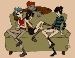 Gorillaz: changes are coming, you best be ready by Dimm-Nogal