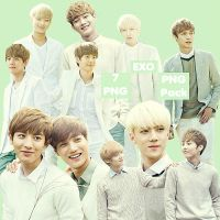 EXO's PNG Pack {Nature Republic} by kamjong-kai