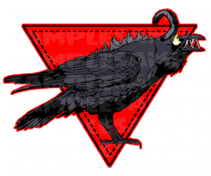 Cursed Crow Design. by badcop69
