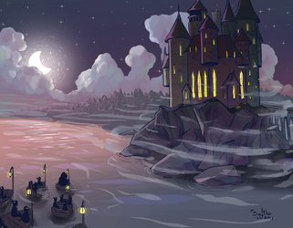 Hogwarts School of Witchcraft and Wizardry by sofiko-chan