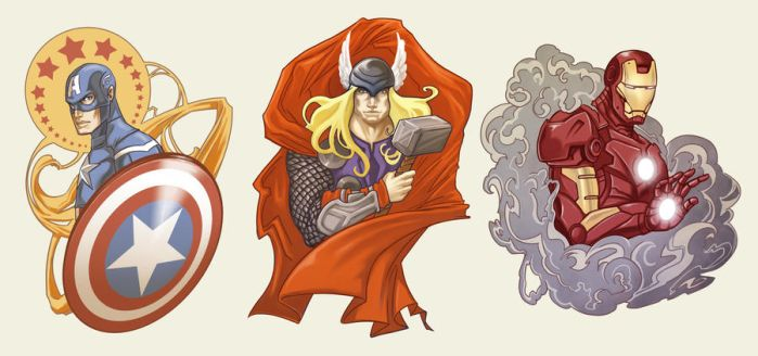 Avengers Assembled by shadowbucket
