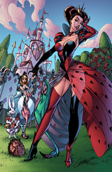 Queen of Hearts by J-Skipper