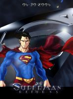 Superman Returns poster by mistermoster